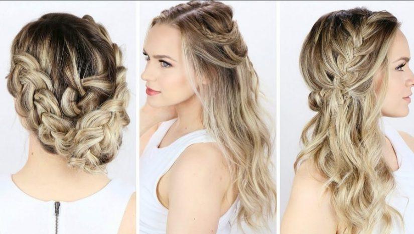 Einfache Hochzeit Frisuren  30 Neuer Einfache Frisuren Du siehst hübsch aus im Jahr