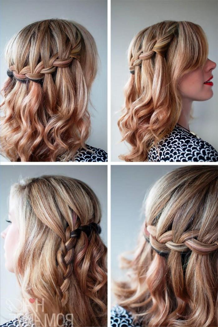 Einfache Hochzeit Frisuren  90 Ideen für Brautjungfern Frisuren zur Inspiration und