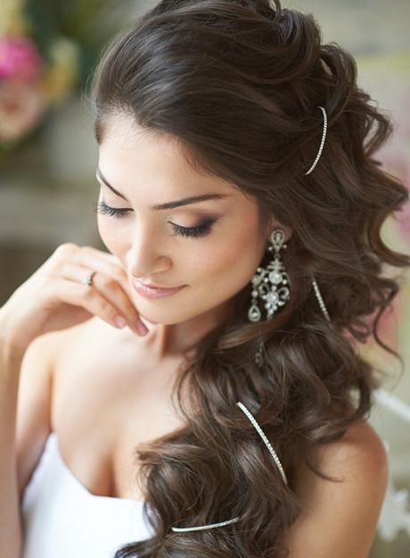 Einfache Hochzeit Frisuren  Frisuren für hochzeit lange haare