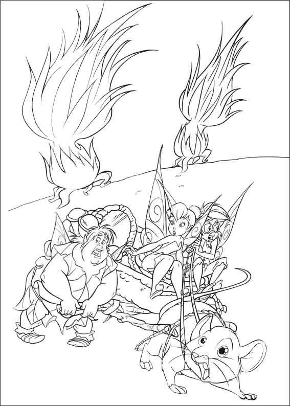 Elfen Ausmalbilder  Elfen und Fee ausmalbilder
