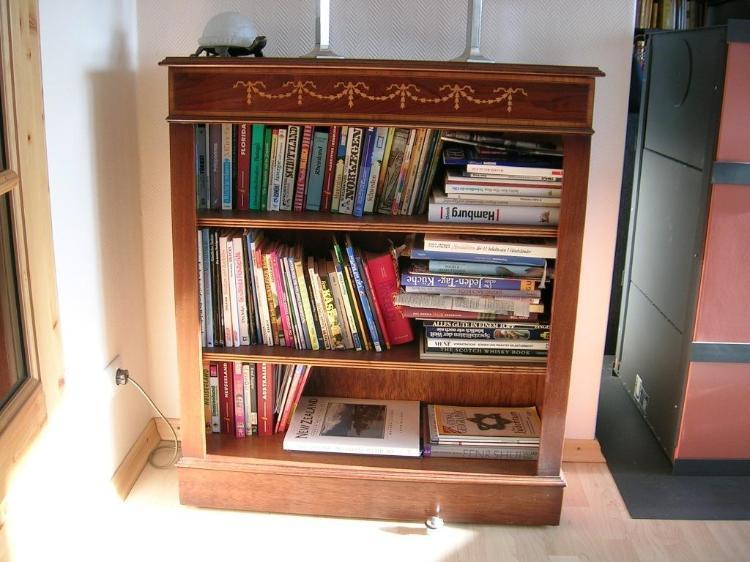 Englisch Regal  Bücherregal klein englisch Mahagoni Rellingen