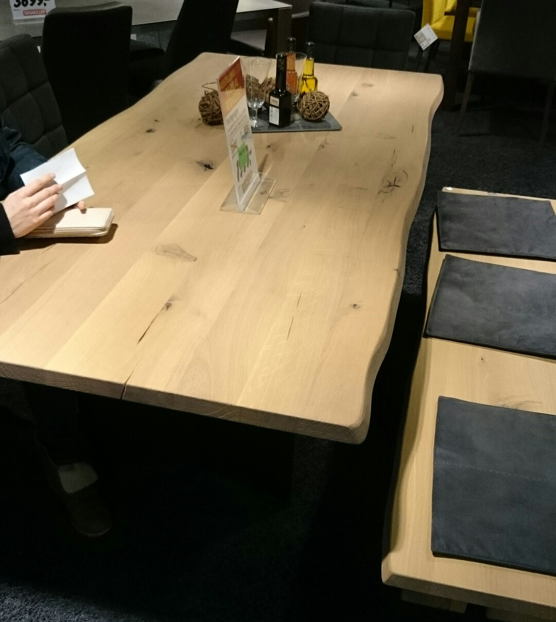Esstisch Selber Bauen  Esstischlberuen Tisch