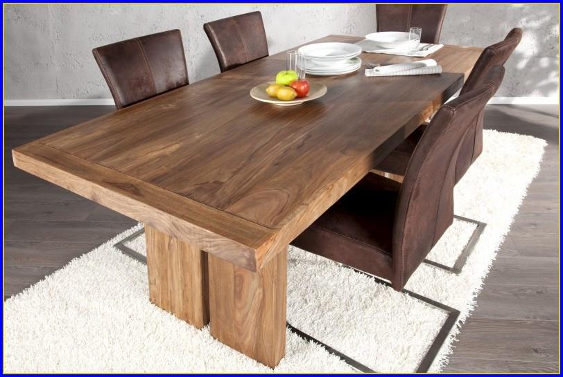 Esstisch Selber Bauen  Tisch Aus Holzbohlen esstisch aus holzbohlen neueste