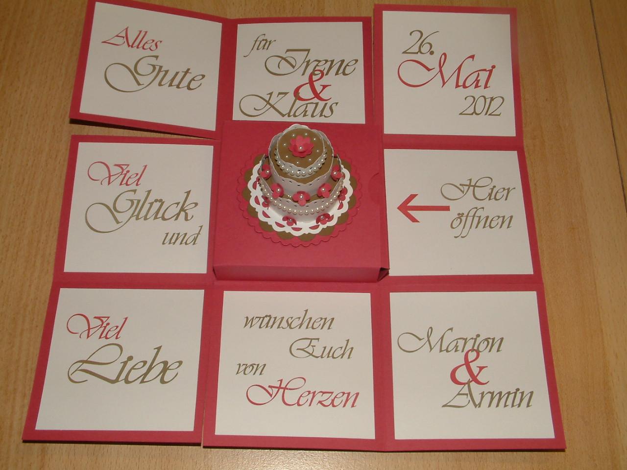 Explosionsbox Hochzeit Anleitung  Explosionsbox Hochzeit Anleitung