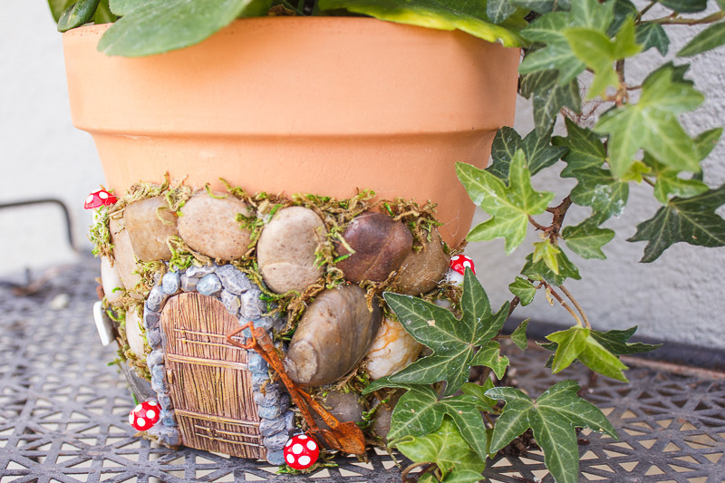 Fairy House Diy  DIY Fairy House Planter Project Crafts Unleashed