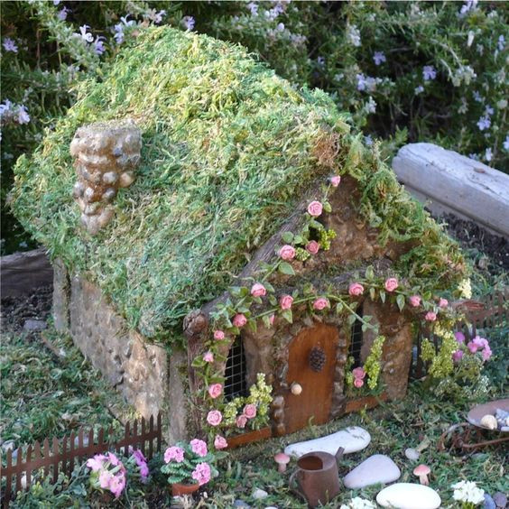 Fairy House Diy  Amazing 55 DIY Fairy House Ideas Crafts and DIY Ideas