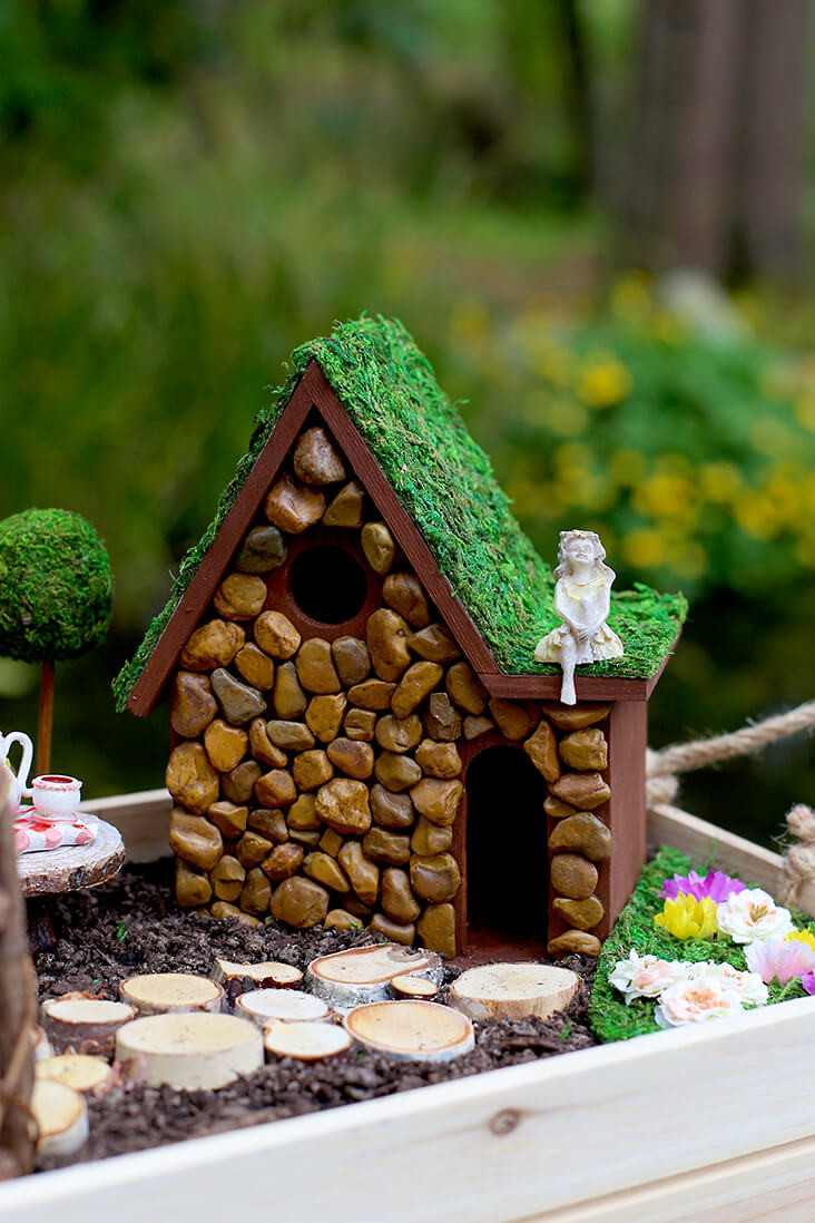 Fairy House Diy  38 Best DIY Fairy Garden Accessories Ideas and Designs for