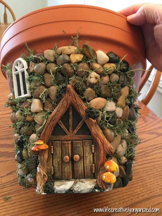 Fairy House Diy  DIY Fairy House Planter