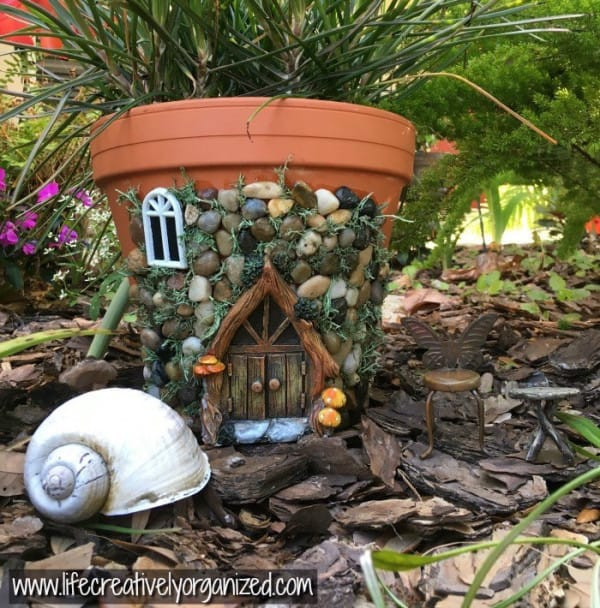 Fairy House Diy  Make Your Own DIY Fairy House Out A Terra Cotta Pot