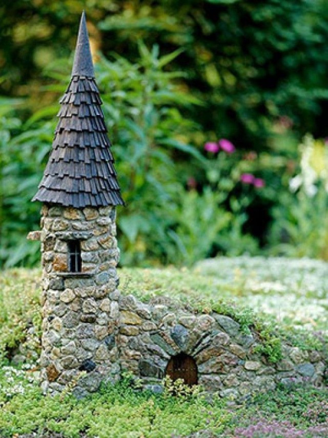 Fairy House Diy  Awesome Miniature Stone Houses