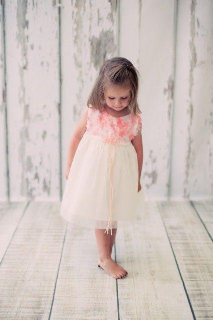 Festliche Babykleider Für Hochzeit  BIMARO Baby Mädchen Babykleid Cecile creme beige mit