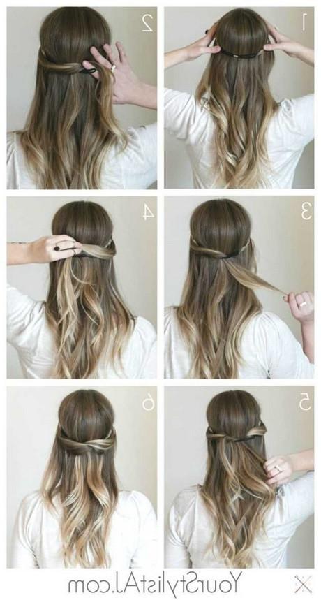 Festliche Frisuren Lange Haare Selber Machen  Festliche frisuren dünnes haar