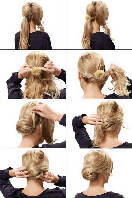 Festliche Frisuren Lange Haare Selber Machen  Schnelle frisur für schulterlange haare