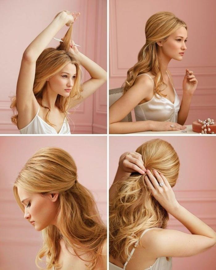 Festliche Frisuren Lange Haare Selber Machen  Abendfrisuren selber machen 46 Tipps und Tricks