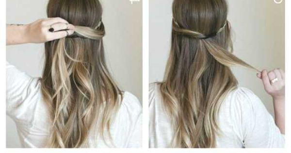 Festliche Frisuren Lange Haare Selber Machen  festliche frisuren lange haare selber machen