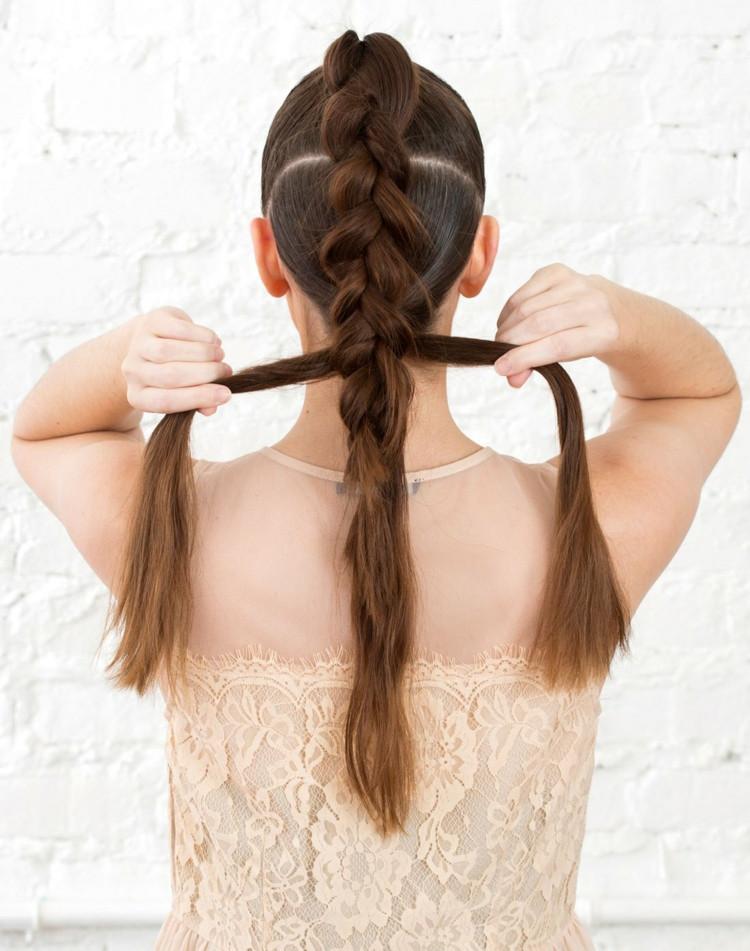 Festliche Frisuren Lange Haare Selber Machen  Festliche Frisuren zum Selbermachen 3 Ideen mit Anleitung