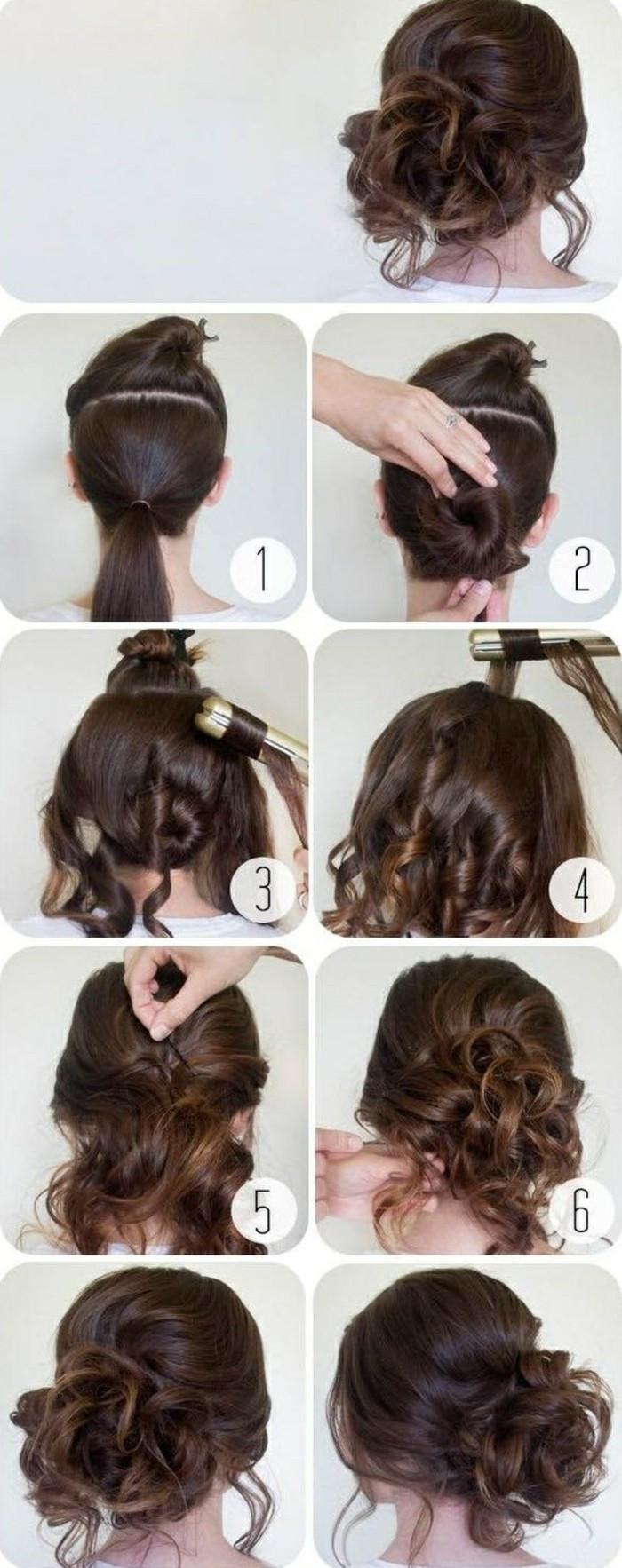 Festliche Frisuren Lange Haare Selber Machen  1001 Ideen wie Sie effektvolle Hochsteckfrisuren selber