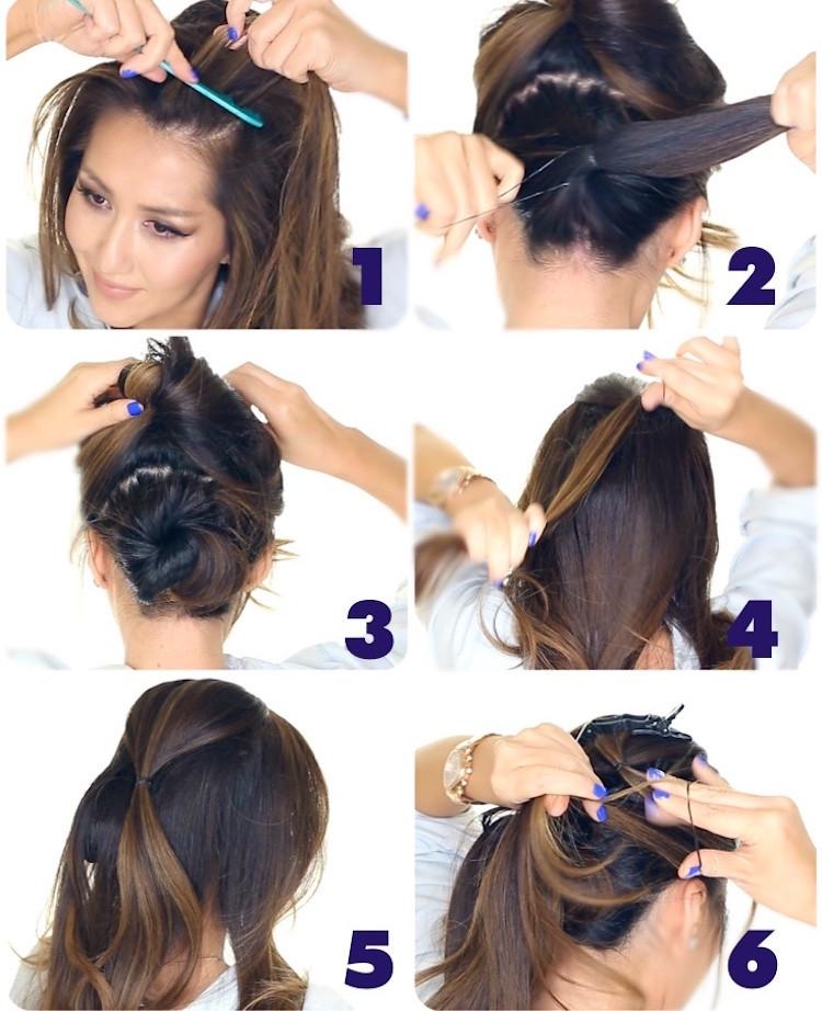 Festliche Frisuren Lange Haare Selber Machen  frisuren selber machen abiball frisuren selber machen 17