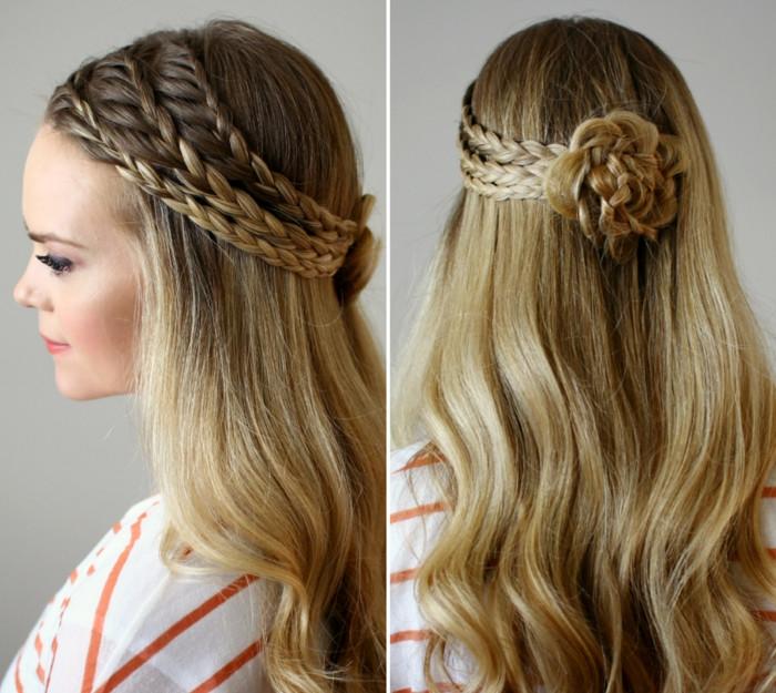 Festliche Frisuren Lange Haare Selber Machen  1001 Festliche Frisuren zum Inspirieren und Nachstylen