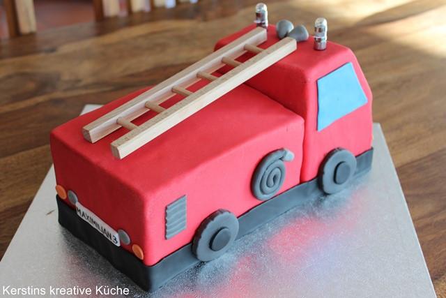 Feuerwehr Kuchen  Kerstins kreative Küche Feuerwehr Kuchen