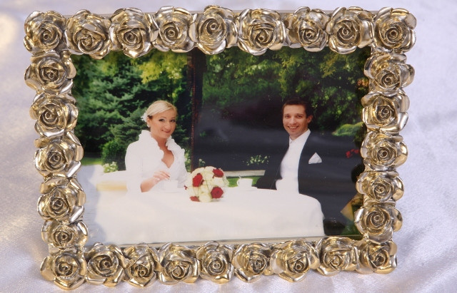 Fotorahmen Hochzeit  Fotoalben und Fotorahmen