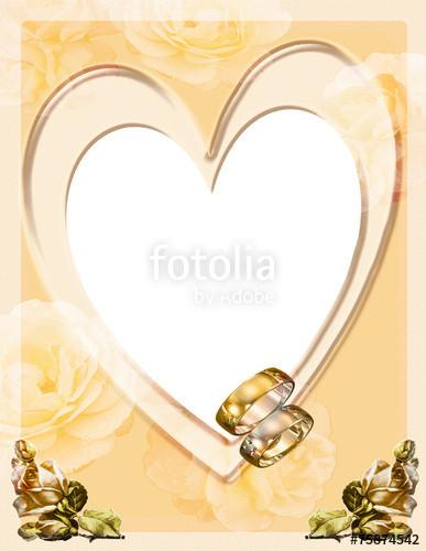 """Fotorahmen Hochzeit  """"Fotorahmen Goldene Hochzeit"""" Stockfotos und lizenzfreie"""