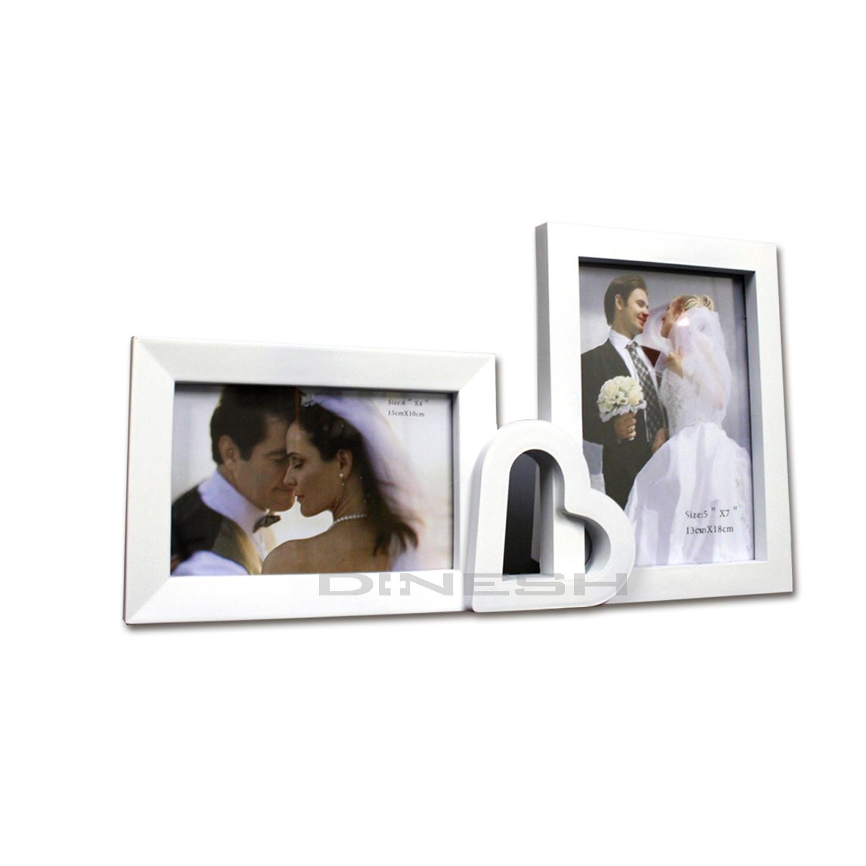 Fotorahmen Hochzeit  DI NESH 3D Family Hochzeit Fotorahmen Bilderrahmen