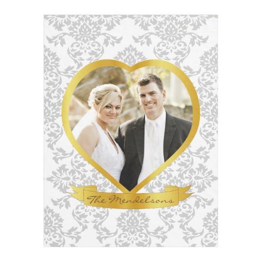 Fotorahmen Hochzeit  Liebe Hochzeit und Paare formten Fotorahmen Fleecedecke