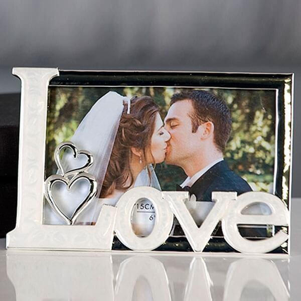 Fotorahmen Hochzeit  Bilderrahmen True Love weddix