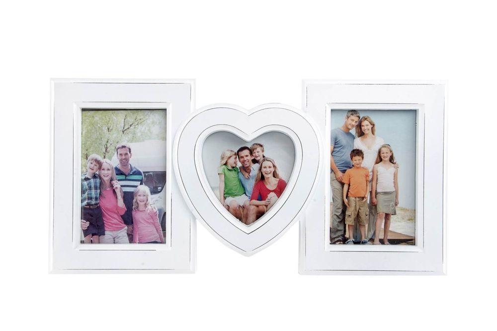 Fotorahmen Hochzeit  Fotorahmen Bilderrahmen Hochzeit Geschenk Collage Herz