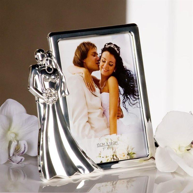 Fotorahmen Hochzeit  Wunderschöner Bilderrahmen Fotorahmen Hochzeit Just