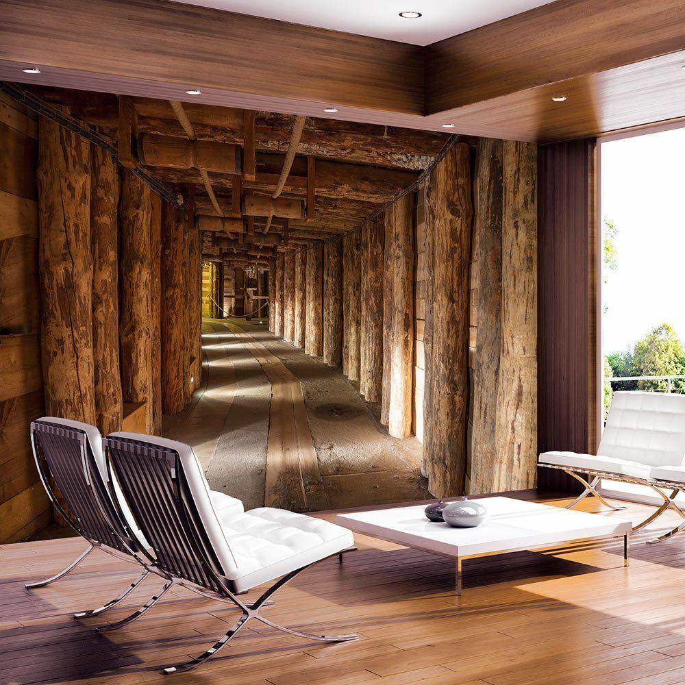 Fototapete Wohnzimmer  Vlies Fototapete 350x245 cm Top Tapete Wandbilder XXL