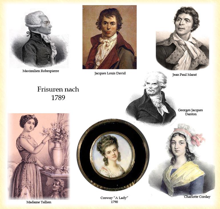 Frisuren 19 Jahrhundert  DAS HAAR IM 18 JAHRHUNDERT