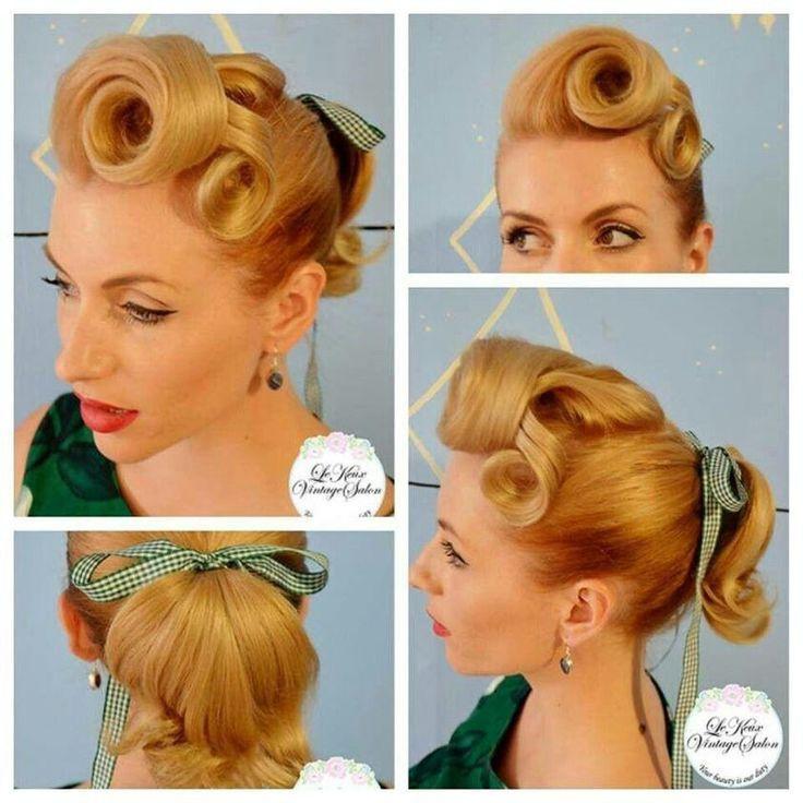 Frisuren 1950  Frisuren 1950 – Modische haarschnitte und haarfärbungen