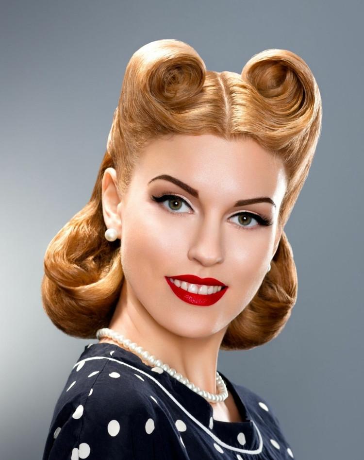 Frisuren 1950  Von gestern Good Hair Days