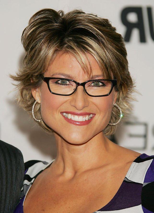 Frisuren Ab 50 Mit Brille  Kurzhaarfrisuren Damen ab 50 mit Brille Aktuelle