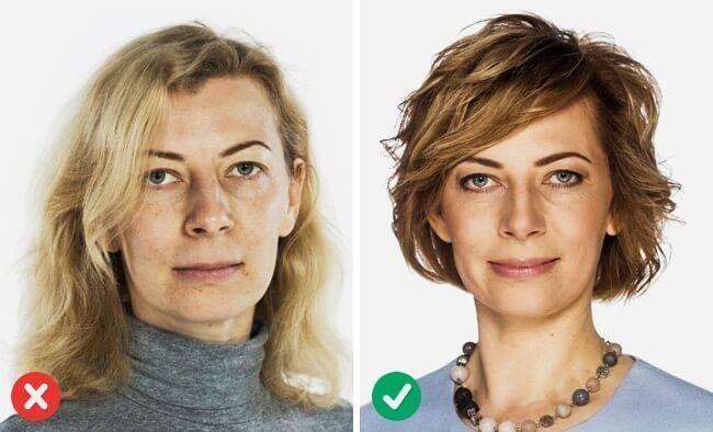 Frisuren Die Jünger Machen Vorher Nachher  Diese Haarfrisuren lassen dich mindestens 5 Jahre jünger