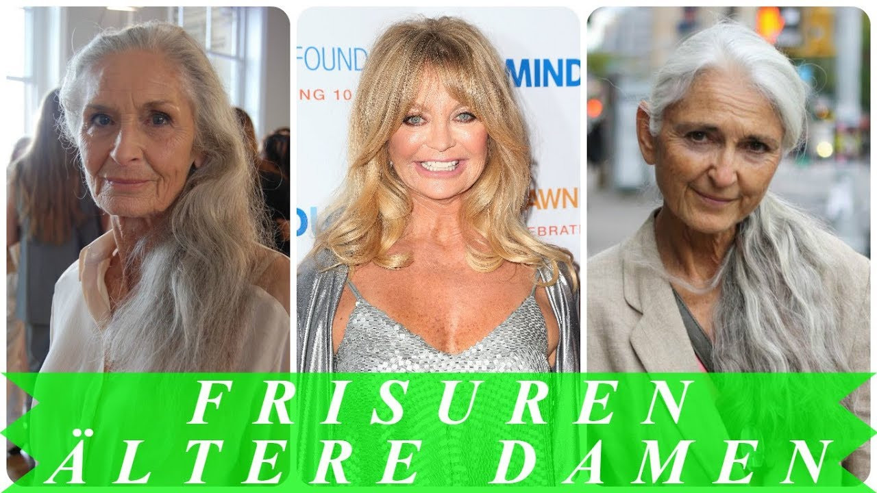 Frisuren Frauen 50  Aktuelle frisuren lange haare für ältere frauen