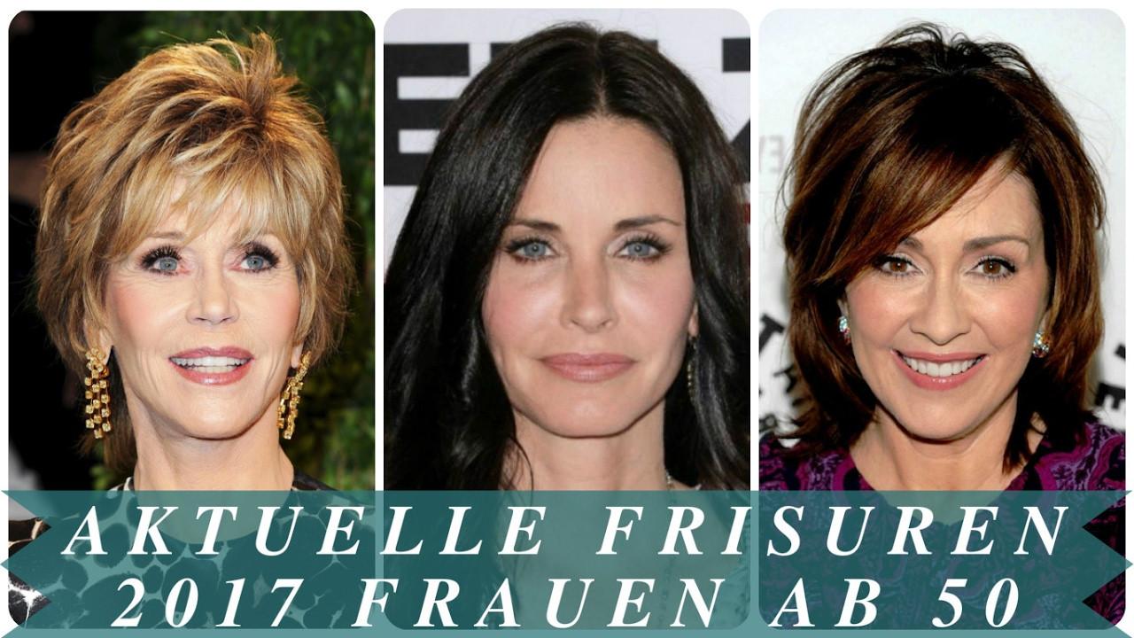 Frisuren Frauen 50  Aktuelle frisuren 2017 frauen ab 50