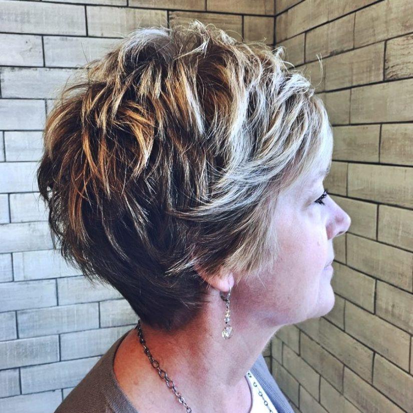 Frisuren Frauen Ab 50 Kurz  28 Wunderschönen Frisuren ab 50 Einfach Stilvoll