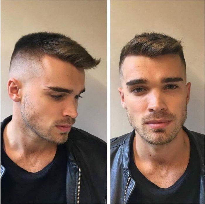 Die 20 Besten Ideen Für Frisuren Für Beginnende Glatze