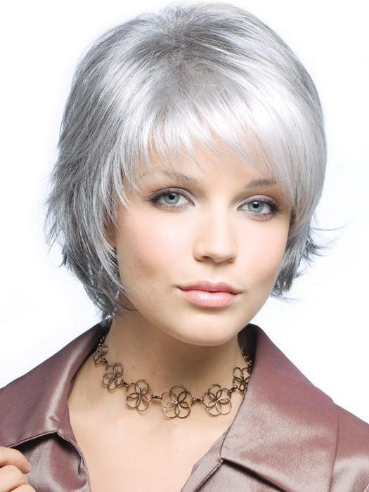 Frisuren Für Kurzes Haar  Frisuren Für Kurze Graue Haare Kurze Frisuren Über Kurze