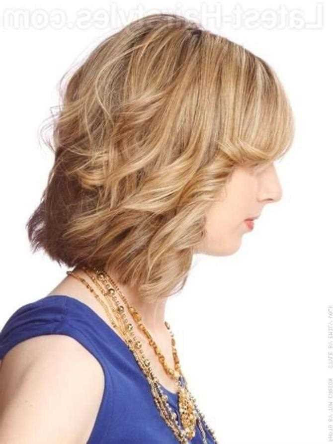 Frisuren Für Kurzes Haar  Kurze Frisuren für feines dünnes Haar für rundes Gesicht