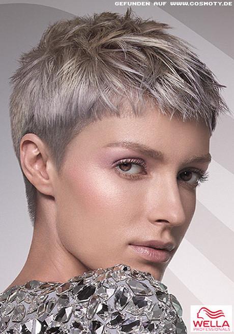 Frisuren Grau  Frisuren kurz grau