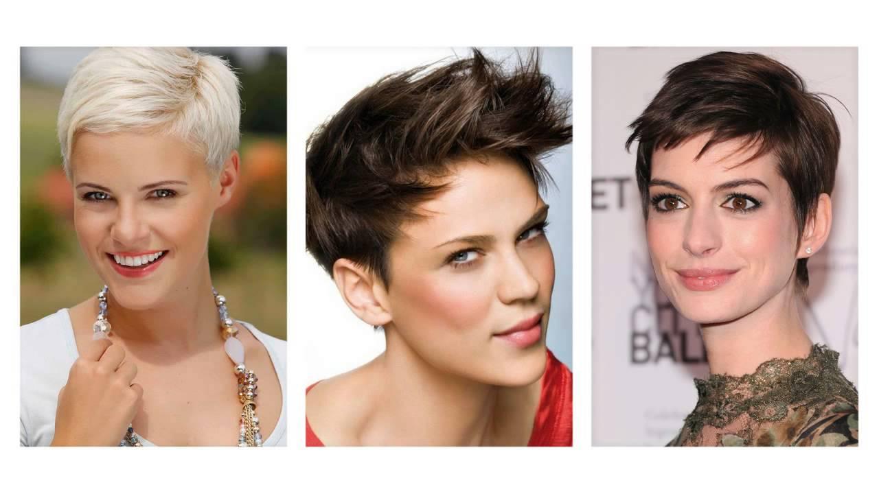 Frisuren Kurz Frauen  Frisuren damen kurz