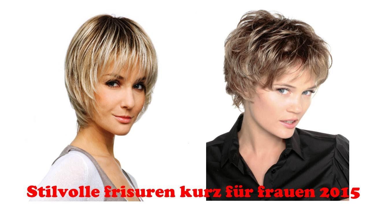 Frisuren Kurz Frauen  Stilvolle frisuren kurz für frauen 2015