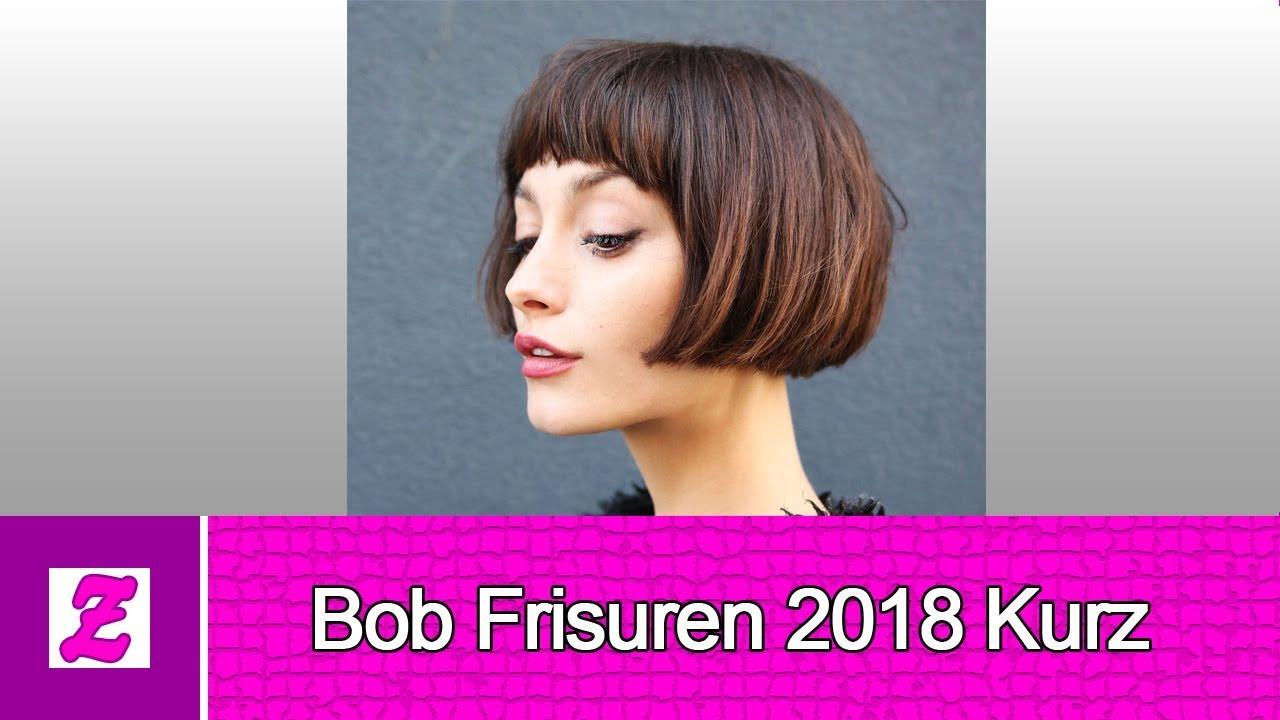 Frisuren Kurz Frauen  Schön Bob Frisuren 2018 Kurz