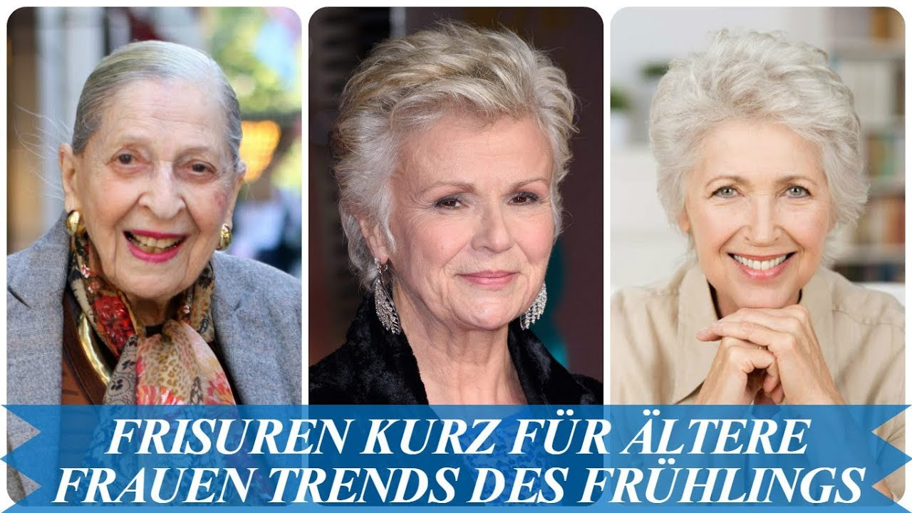 Frisuren Kurz Frauen  Beste frisuren kurz für ältere frauen Trends des Frühlings