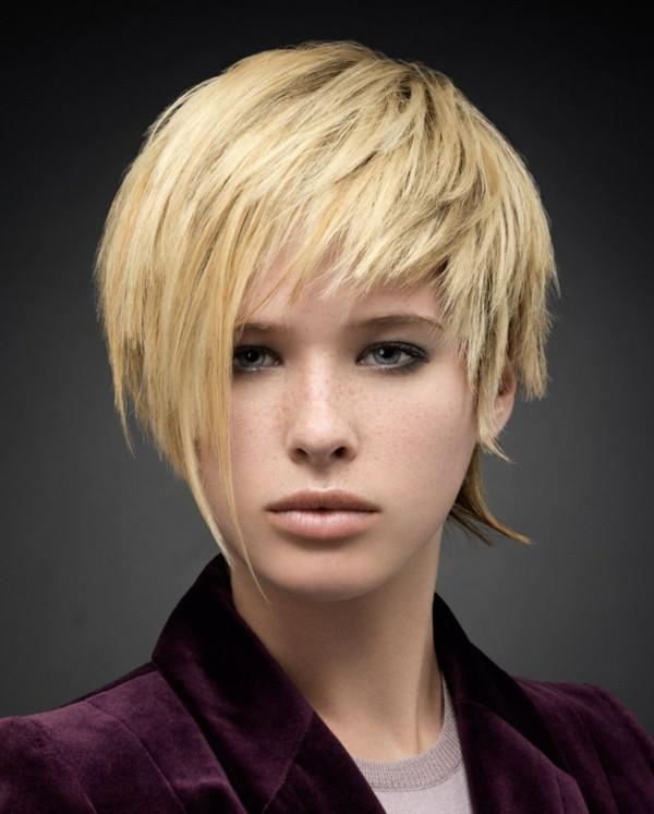 Frisuren Kurz Frauen  Short Choppy Hairstyles