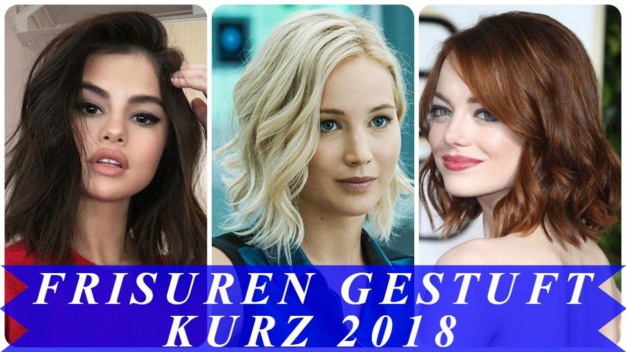 Frisuren Kurz Frauen  Schöne frisuren gestuft kurz 2018